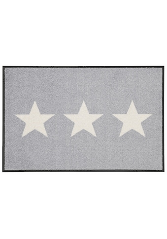 wash+dry by Kleen-Tex Fussmatte »Stars«, rechteckig, 9 mm Höhe, Fussabstreifer,... kaufen