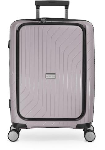 Hauptstadtkoffer Hartschalen-Trolley »TXL, Vintage Silber, 55 cm«, 4 Rollen, mit gepolstertem Laptopfach kaufen