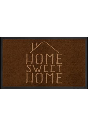 HANSE Home Fussmatte »Sweet Home«, rechteckig, 5 mm Höhe, Schmutzfangmatte, mit... kaufen