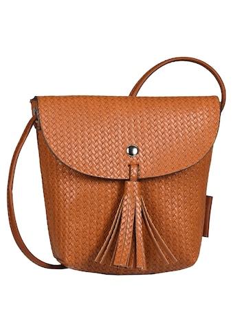 TOM TAILOR Denim Mini Bag »Ida crochet«, In kleinem Format kaufen