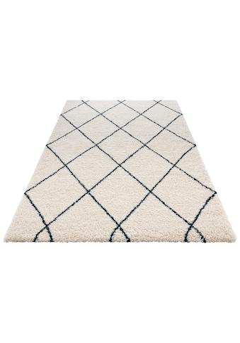 Hochflor - Teppich, »Feel«, MINT RUGS, rechteckig, Höhe 35 mm, maschinell gewebt kaufen