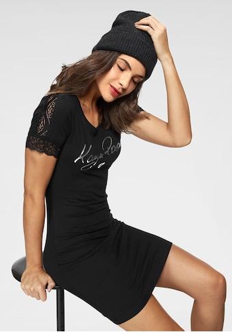 KangaROOS Shirtkleid, mit glänzendem Druck kaufen