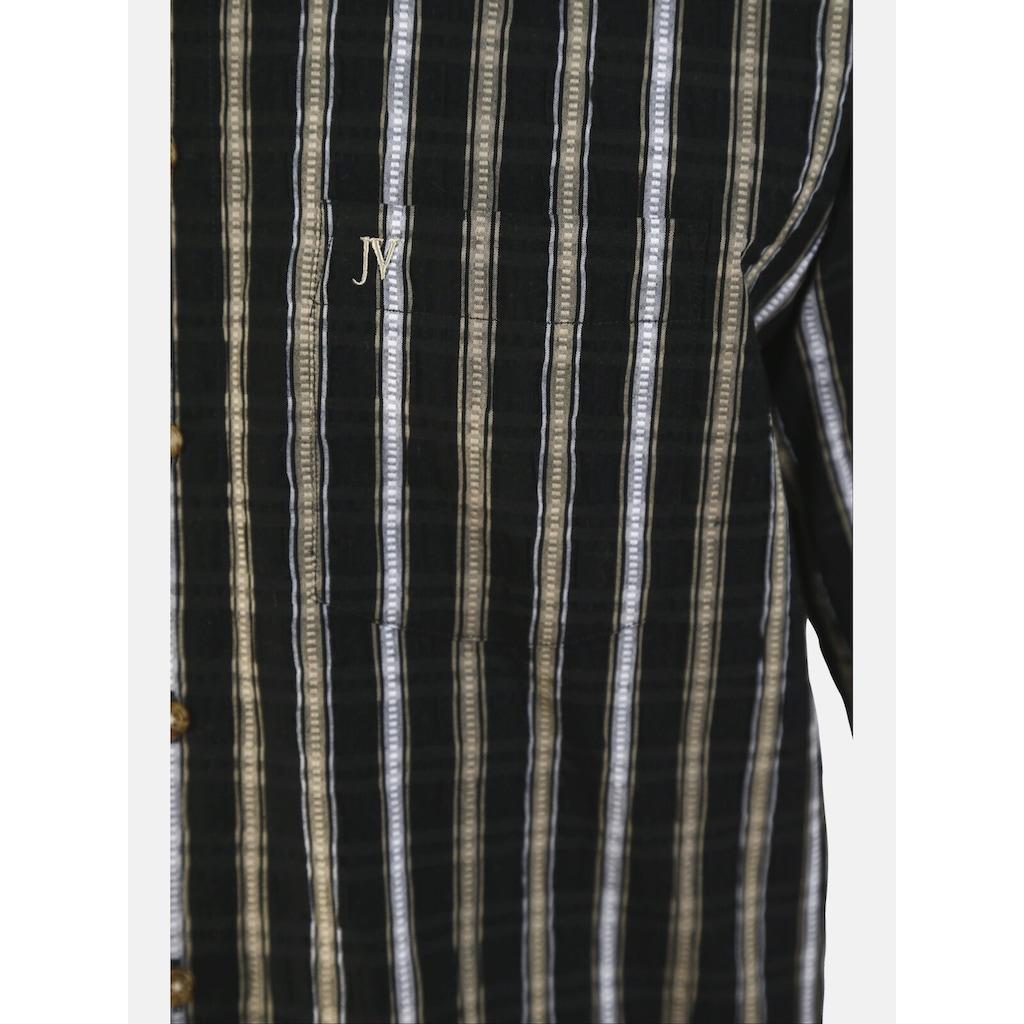 Jan Vanderstorm Streifenhemd »HINNE«, luftiges Freizeithemd