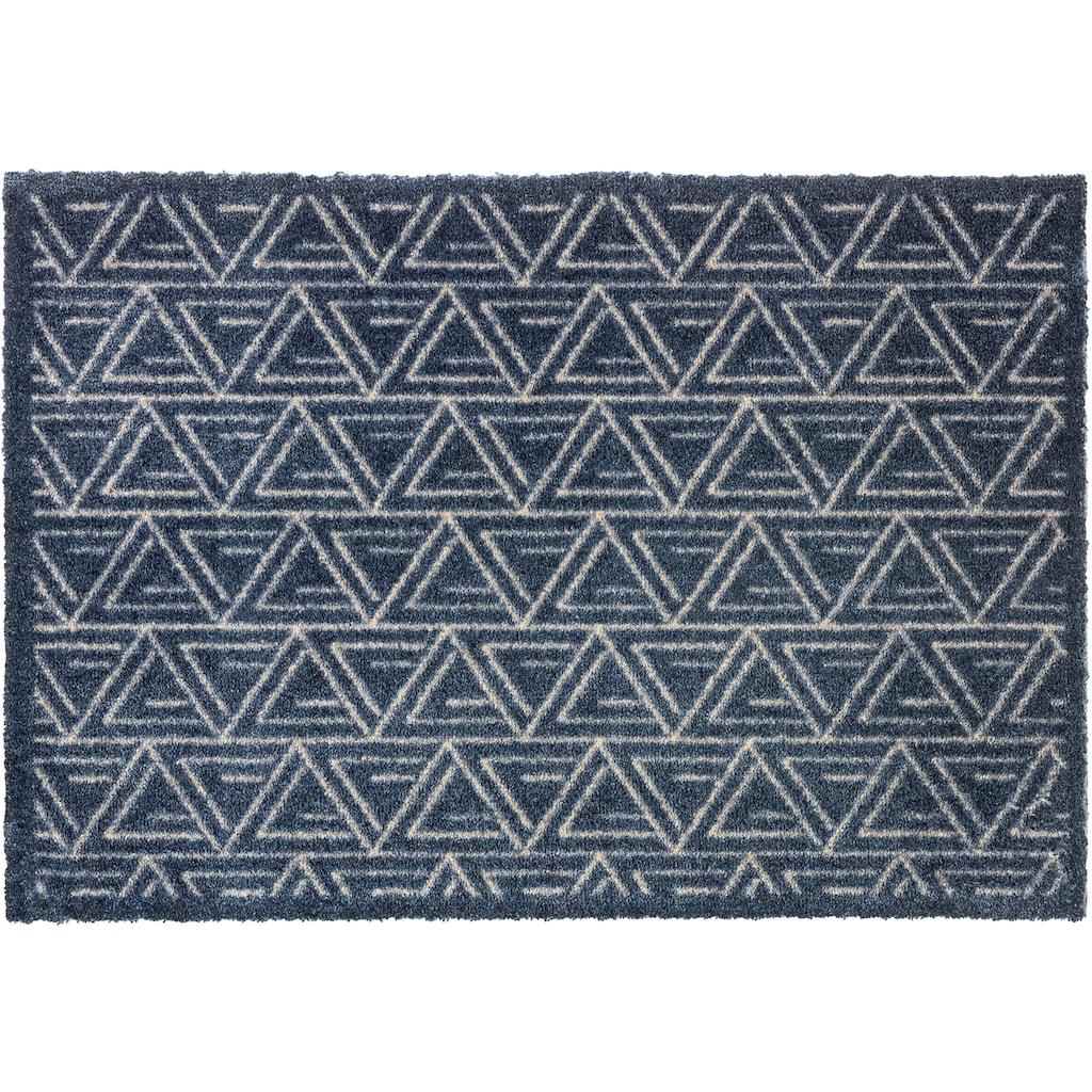 SCHÖNER WOHNEN-Kollektion Fussmatte »Manhattan 005«, rechteckig, 7 mm Höhe, Schmutzfangmatte, waschbar