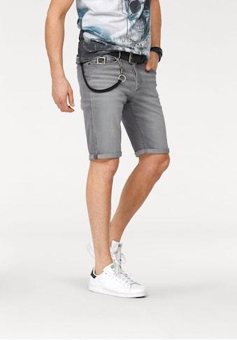 Bruno Banani Jeansbermudas »Hank«, mit Hosenkette kaufen