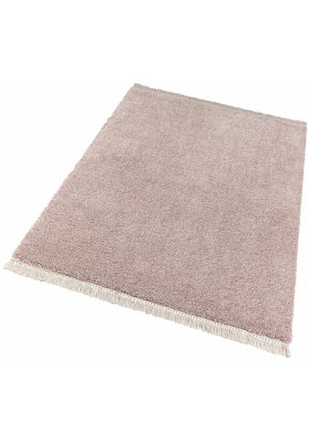 freundin Home Collection Hochflor-Teppich »Aloe«, rechteckig, 35 mm Höhe, pastell... kaufen