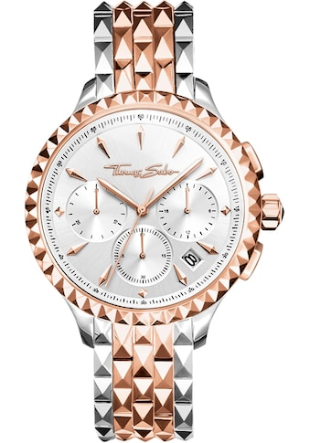 THOMAS SABO Chronograph »REBEL AT HEART, WA0347 - 277 - 201 - 38 mm« kaufen