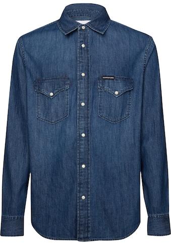 Calvin Klein Jeans Langarmhemd »MODERN WESTERN SHIRT« kaufen