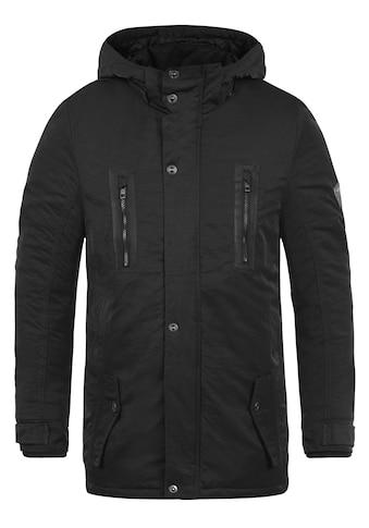 Solid Winterjacke »Daemon«, warme Jacke mit abnehmbarer Kapuze kaufen