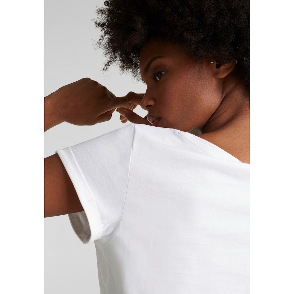 Esprit T-Shirt, mit Logoprint