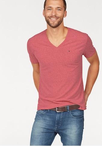 Tommy Jeans T-Shirt »TJM ORIGINAL TRIBLEND V NECK TEE« kaufen