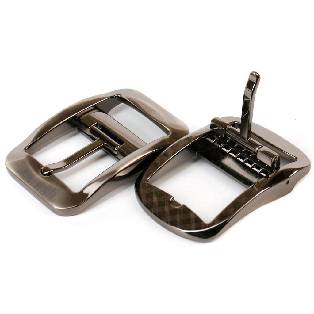 Anthoni Crown Ledergürtel, Hochwertiger Denim-Gürtel