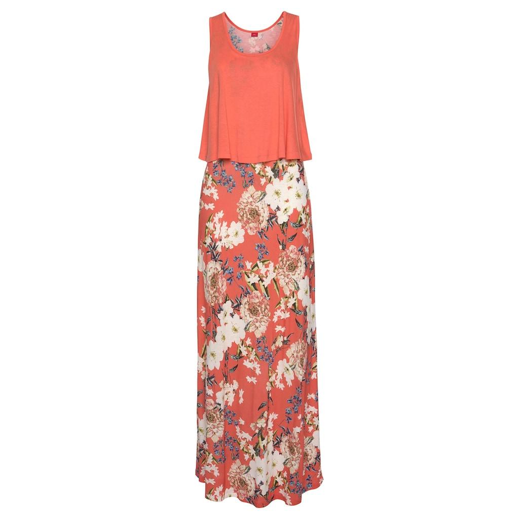 s.Oliver Beachwear Maxikleid, im Lagen-Look