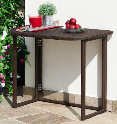 Gartenmöbel-Set in Rattanoptik