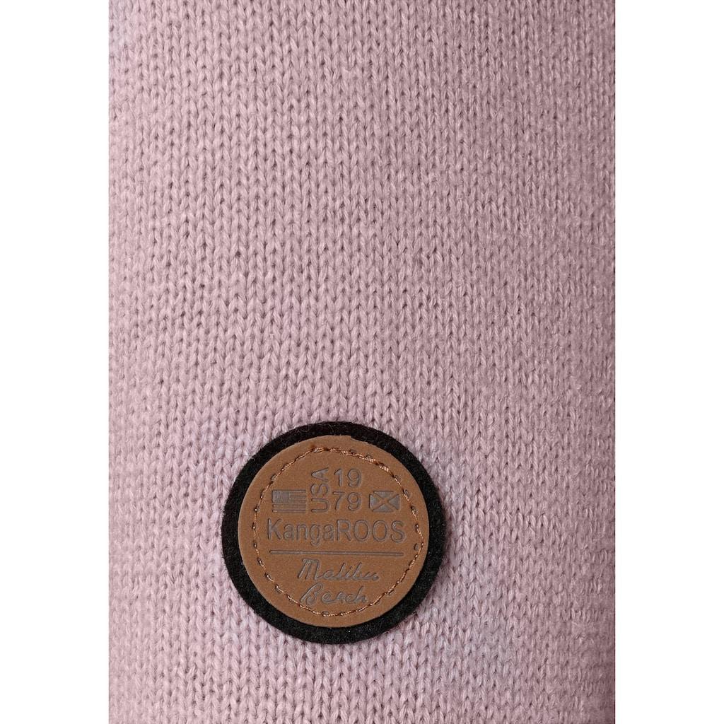 KangaROOS Rollkragenpullover, in klassischer Form