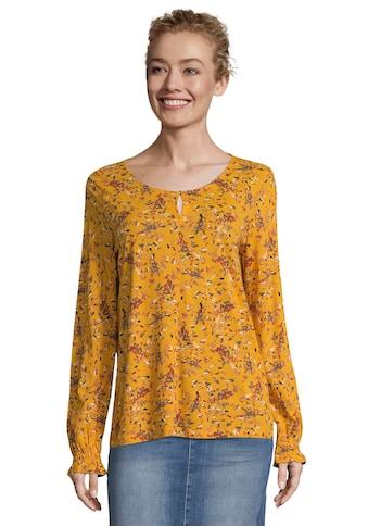 TOM TAILOR Shirtbluse, mit wunderschönem, romantischem Blüten-Alloverprint kaufen