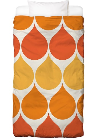 Juniqe Bettwäsche »Sundrops«, In vielen weiteren Designs erhältlich kaufen