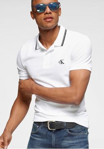 Calvin Klein Jeans Poloshirt »CK ESSENTIAL TIPPING SLIM POLO« kaufen