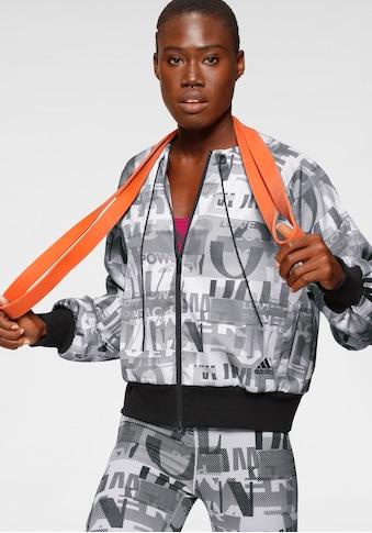 adidas Performance Trainingsjacke »ITERATION COVER UP JACKE« kaufen