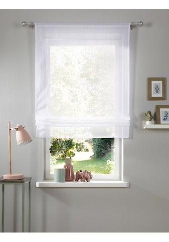 my home Bändchenrollo »Xana«, mit Stangendurchzug, Bändchenrollo kaufen