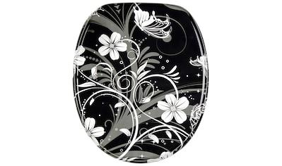 Sanilo WC-Sitz »White Flower«, mit Absenkautomatik kaufen