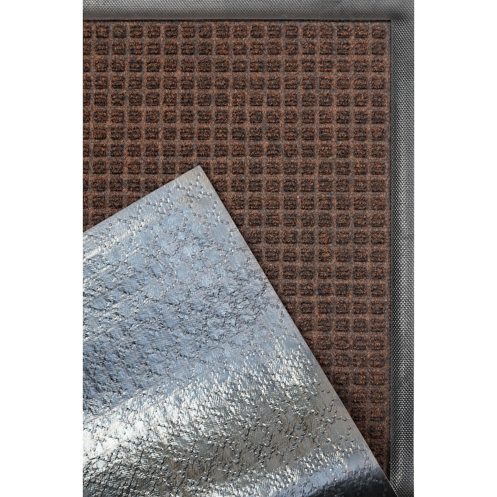 Kleen-Tex Fussmatte »Water-Horse«, rechteckig, 7 mm Höhe, Schmutzfangmatte, In- und Outdoor, rutschhemmend beschichtet