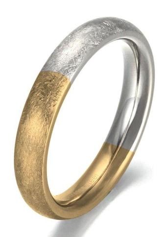 Firetti Fingerring »4,0 mm, glanz/matt, bicolor« kaufen