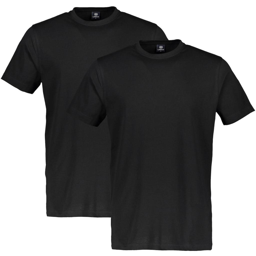 LERROS T-Shirt, in klassischer Optik