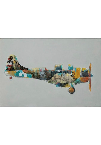 Kayoom Ölbild »Flugzeug«, 60cm x 90cm kaufen