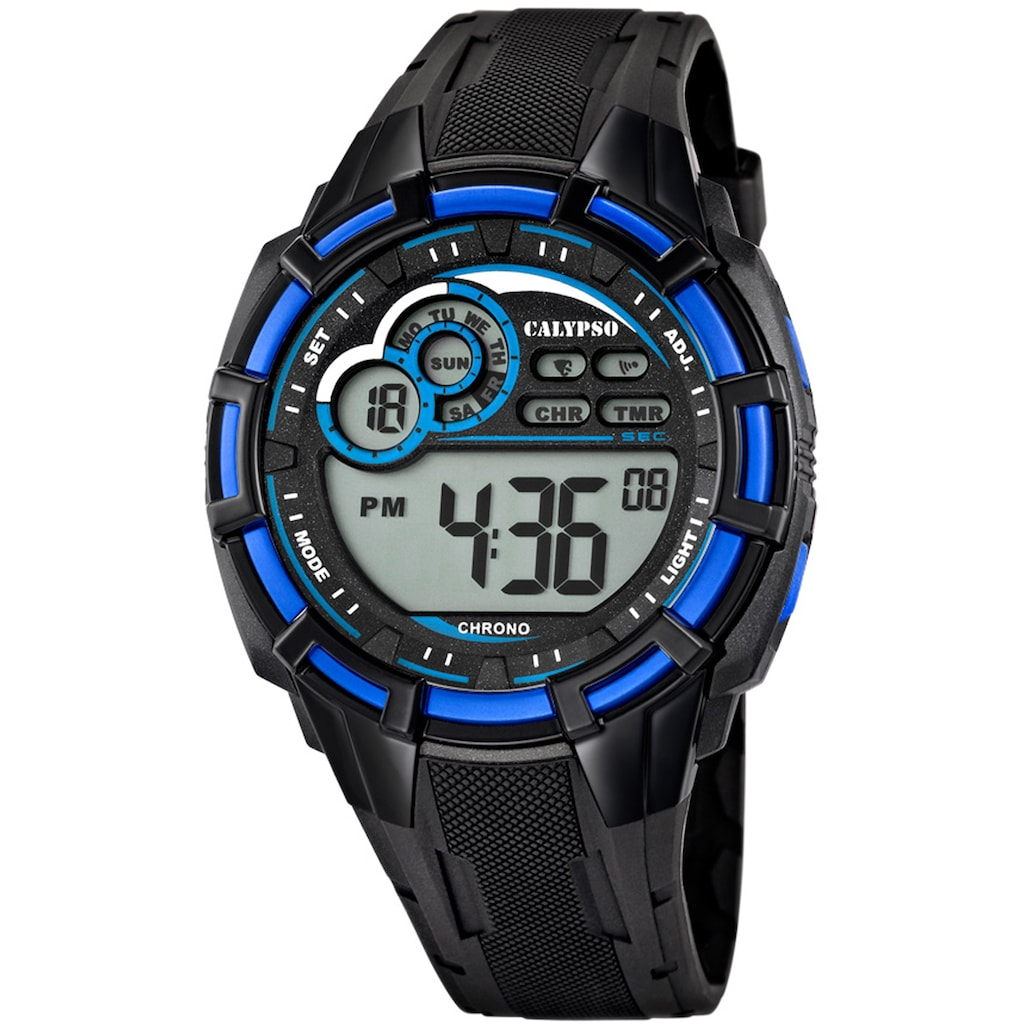 CALYPSO WATCHES Chronograph »Digital For Man, K5625/2«