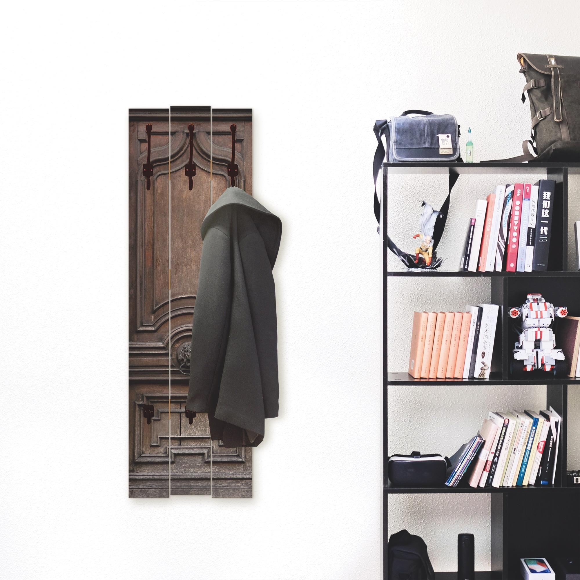 Image of Artland Garderobenpaneel »Alte, massive Tür«