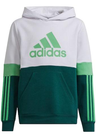adidas Performance Sweatshirt »COLORBLOCK FLEECE HD ESSENTIALS JUNIOR REGULAR MENS« kaufen