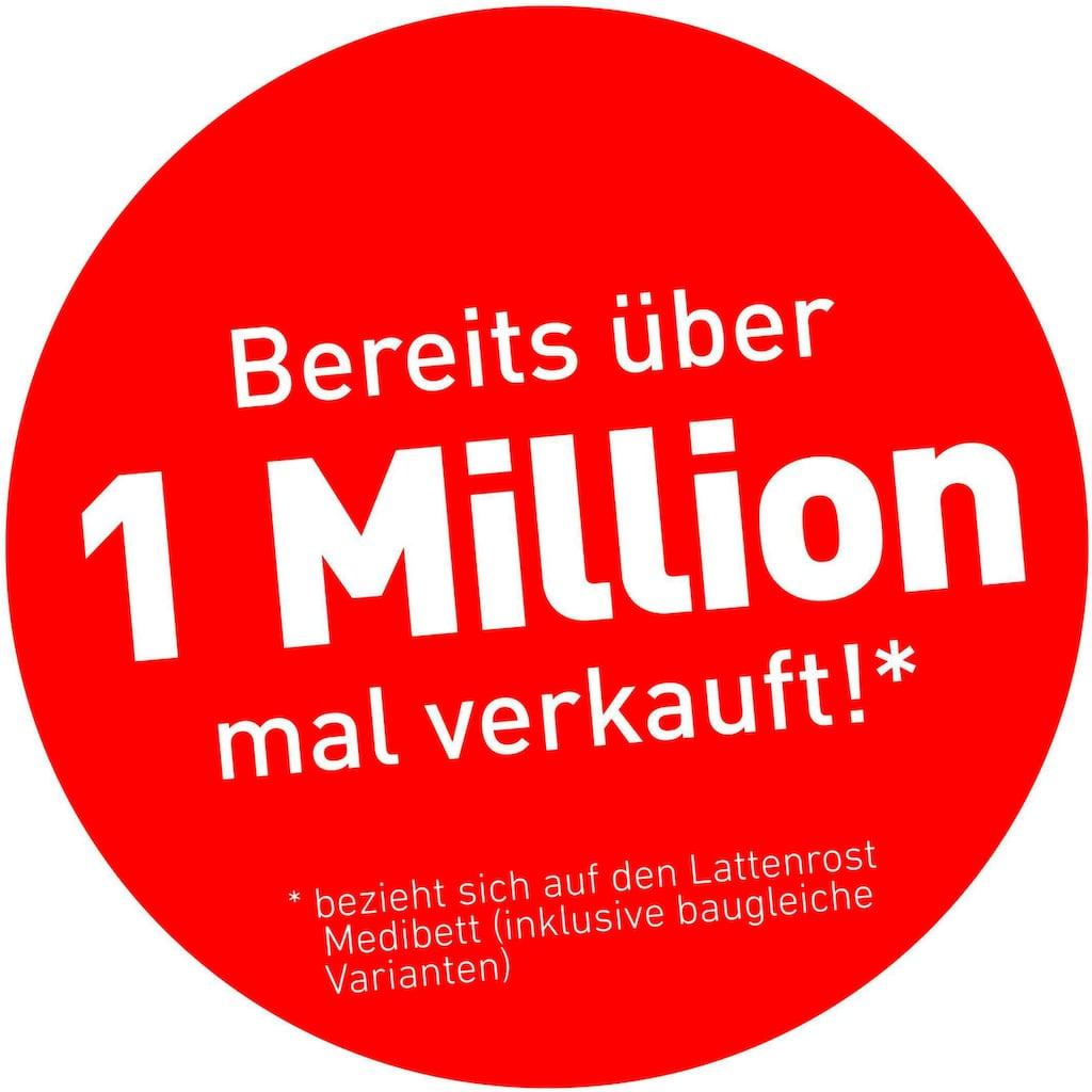 BeCo EXCLUSIV Lattenrost »Medibett LR-K«, 28 Leisten, Kopfteil manuell verstellbar, der Millionen-Topseller im Doppelpack