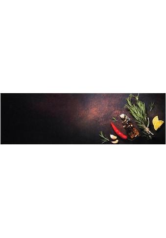 Zala Living Küchenläufer »Kitchen Spices«, rechteckig, 5 mm Höhe, rutschhemmend, waschbar kaufen