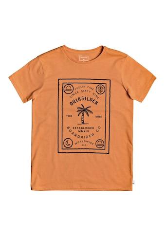 Quiksilver T-Shirt »Bad Liar« kaufen