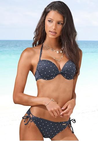 LASCANA Bikini-Hose »Sparkel«, seitlich zu binden und mit Tupfenmuster kaufen