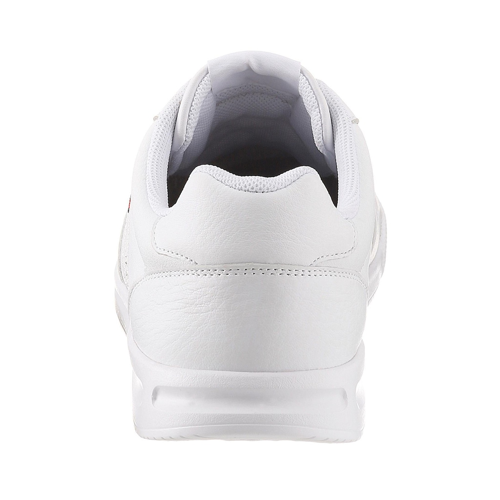 TOMMY HILFIGER Sneaker »LIGHTWEIGHT LEATHER SNEAKER«, mit Futter aus recycled Polyester