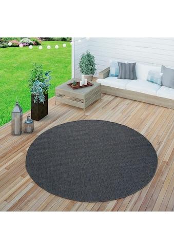 Paco Home Teppich »Timber 125«, rund, 75 mm Höhe, Sisal Optik, In- und Outdoor... kaufen