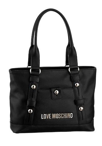 LOVE MOSCHINO Shopper, mit schönen Nieten verziert kaufen
