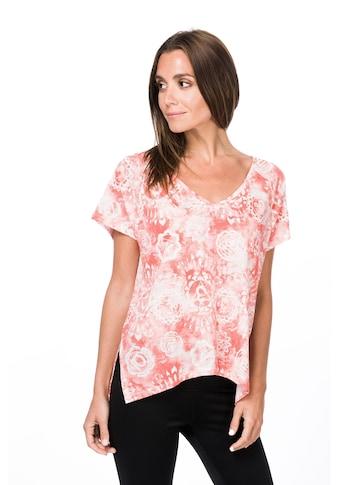 SUPER.NATURAL T-Shirt »W JONSER TEE PRINTED«, feinster Merino-Materialmix kaufen