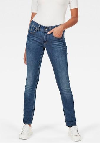 G-Star RAW Straight-Jeans »Midge Saddle Straight«, 5-Pocket-Jeans mit einem modernen... kaufen