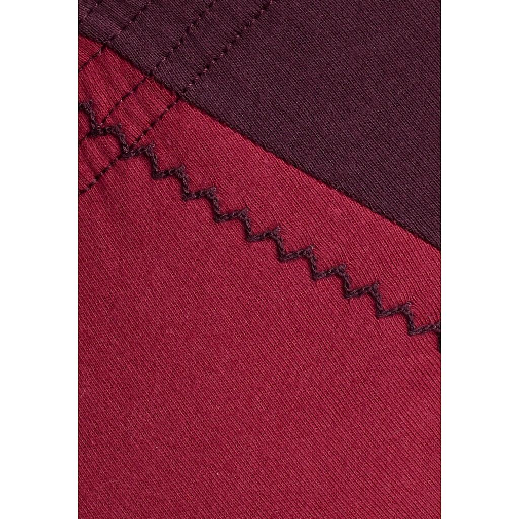 le jogger® Slip, schöner Basic in schönen Farbkombinationen