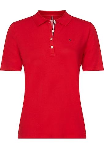 TOMMY HILFIGER Poloshirt »TH ESSENTIAL REG POLO SS«, mit Tommy Hilfiger Logo-Flag &... kaufen