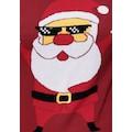 Boysen's Jacquardpullover, mit Santa- Motiv