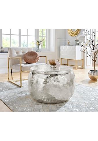 Leonique Couchtisch »Lomme«, mit praktischem Stauraum und Deckelaufsatz kaufen