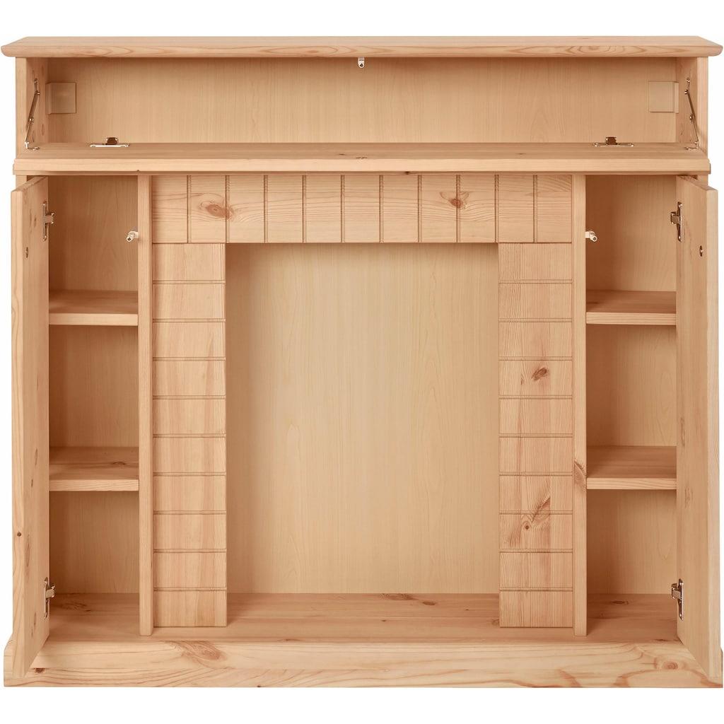 Home affaire Kaminumbauschrank, Breite 110 cm