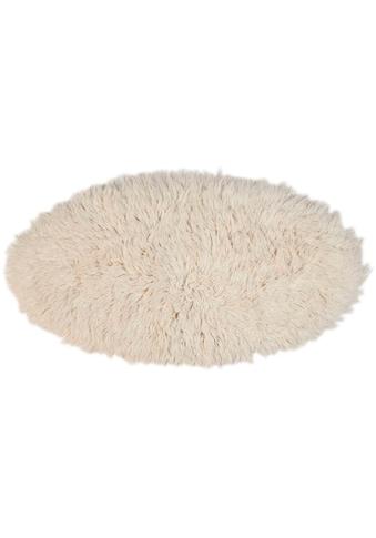 Theko Exklusiv Wollteppich »Flokos 2«, rund, 70 mm Höhe, Hochflor, reine Wolle,... kaufen