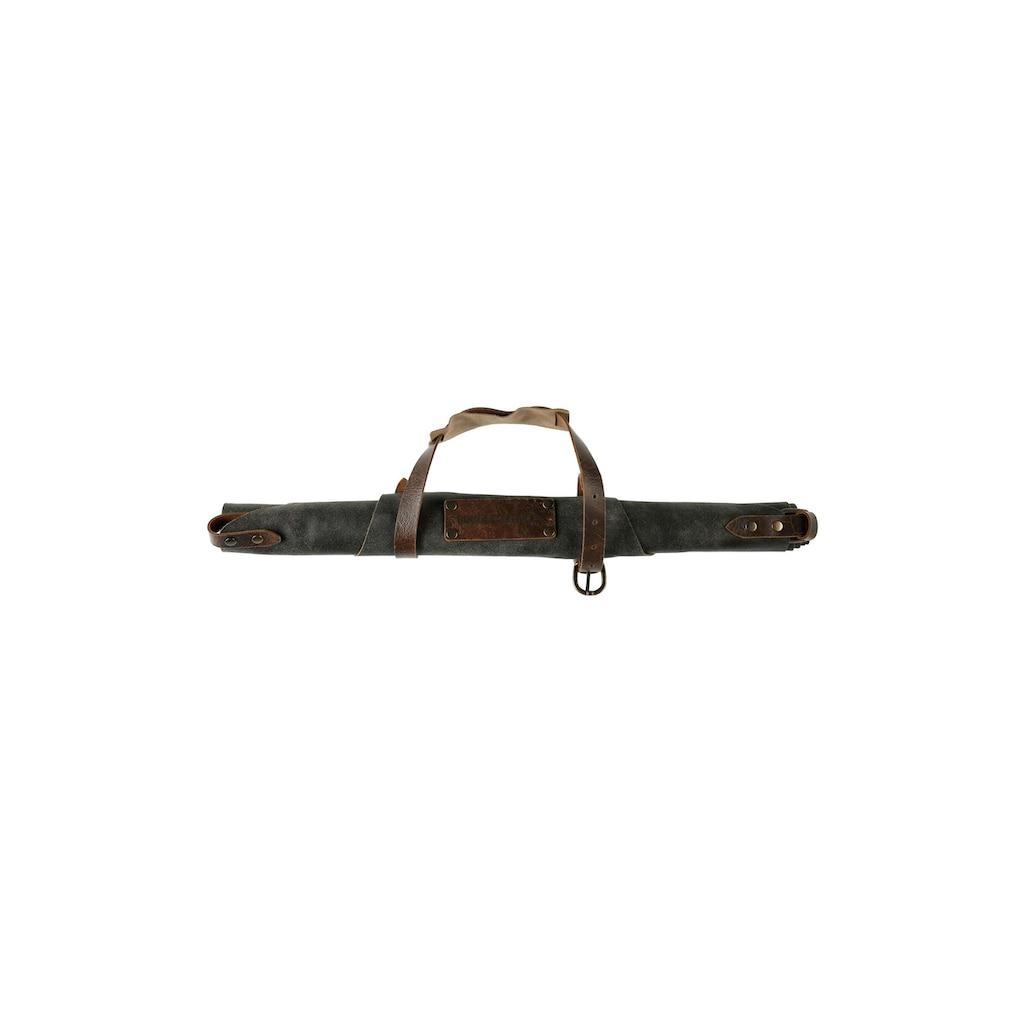 Grillschürze »Antikleder, Anthrazit, Grösse 3«