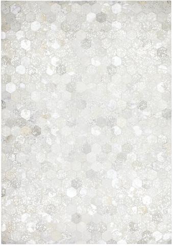 Lederteppich, »Spark 210«, Kayoom, rechteckig, Höhe 8 mm, Naturprodukt kaufen