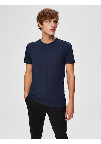 SELECTED HOMME T - Shirt »NEW PIMA O - NECK TEE« kaufen